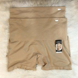 Lot Of 2 Jockey Waist Slimmer Short Nude Size XXL